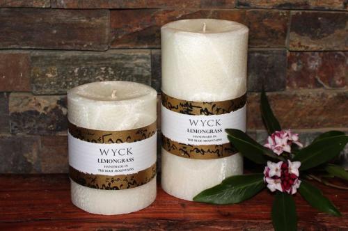 Candles - Pillar Candles - Lemongrass Candle - Destiny Wellbeing
